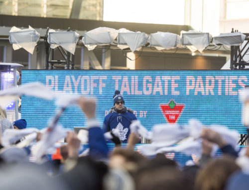 Maple Leafs Square Playoff Tailgate Parties