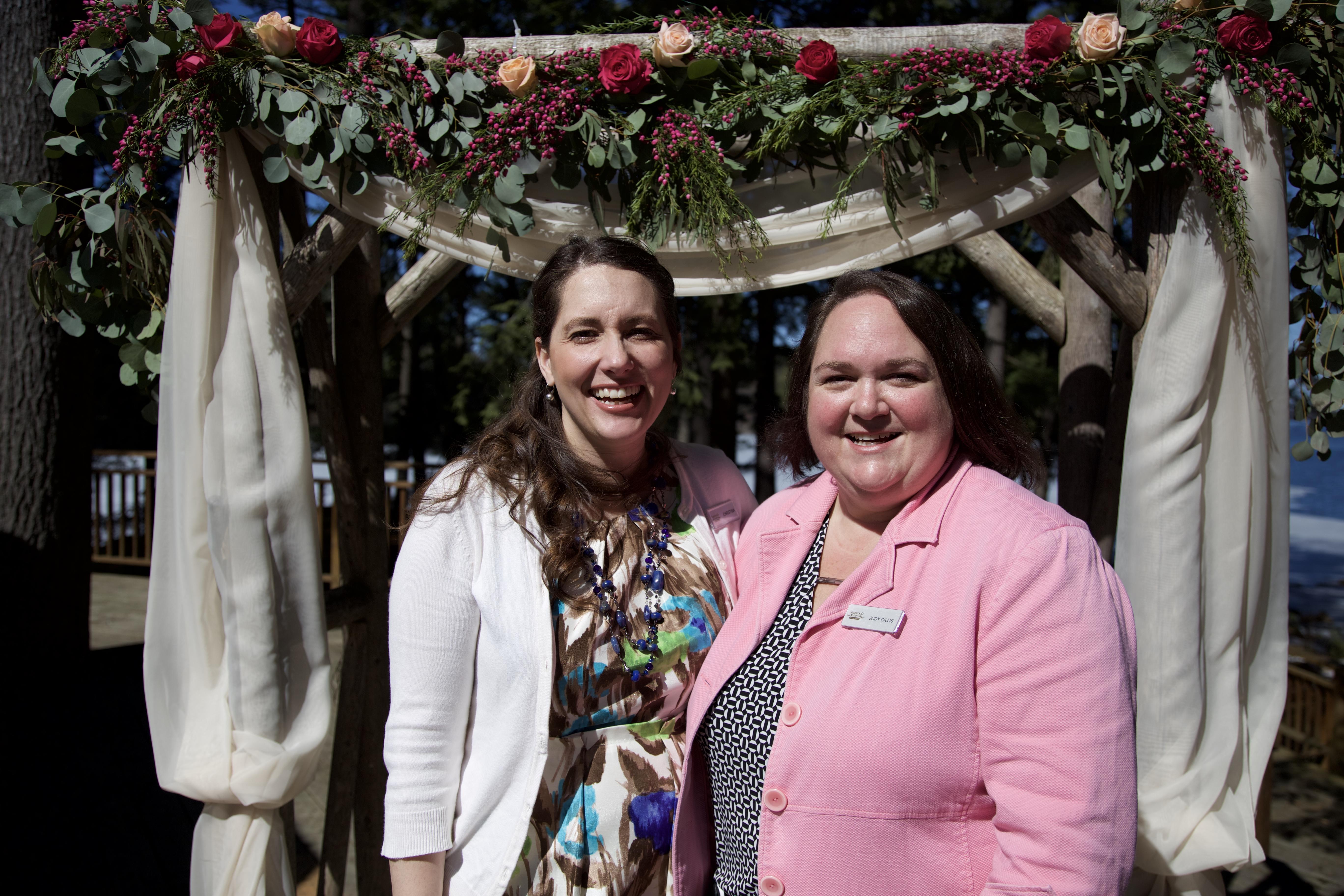 Christina Van Kempen & Jody Gillis, Team Sherwood Inn